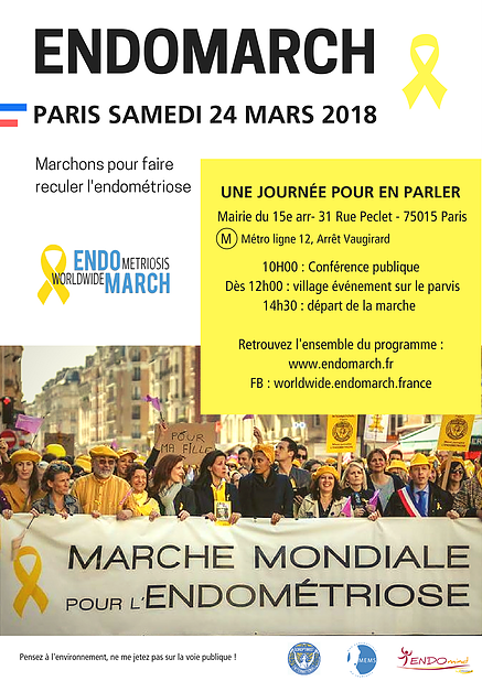 Une journée d'action contre l'endométriose